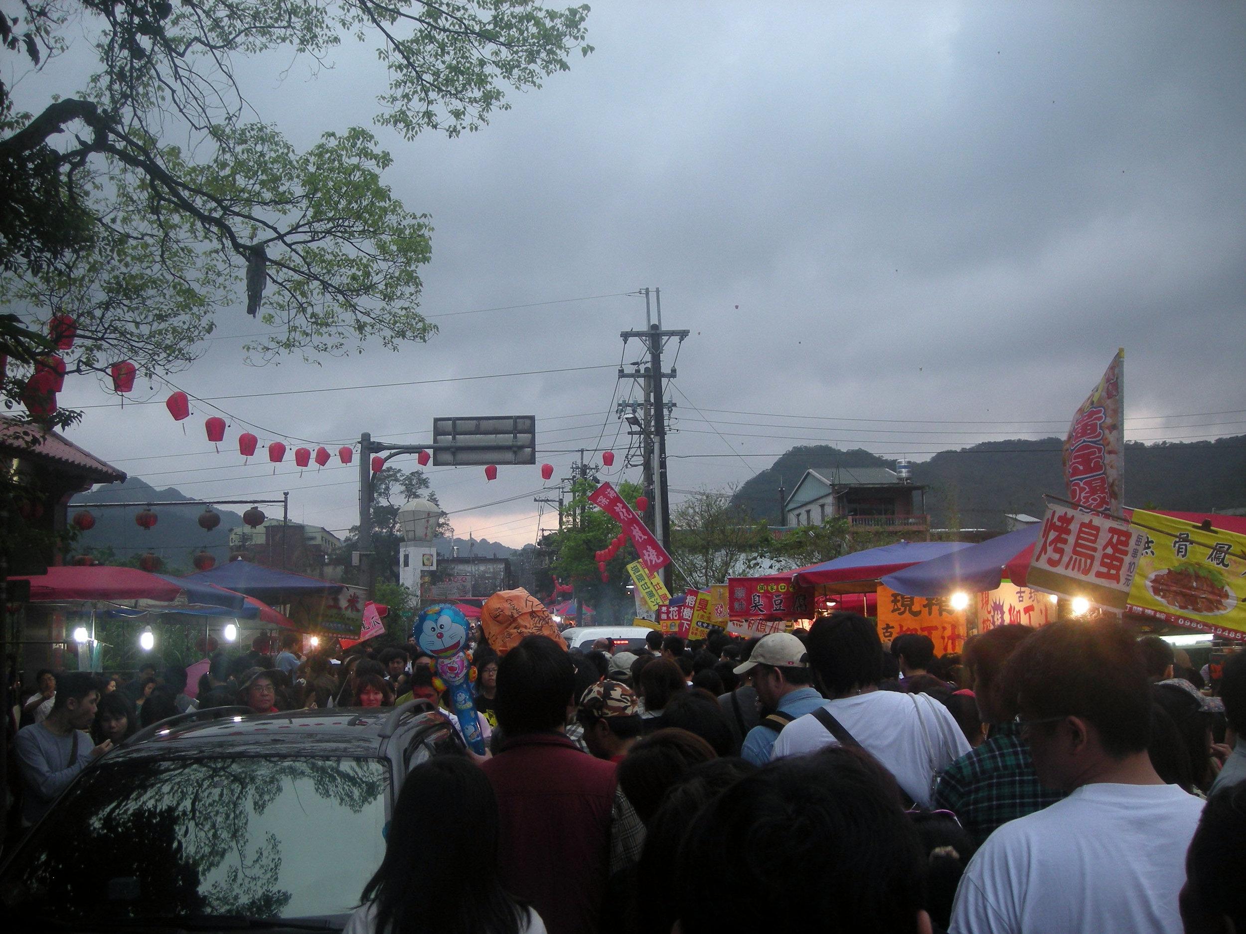 Sky Lantern Festival crowds.jpg
