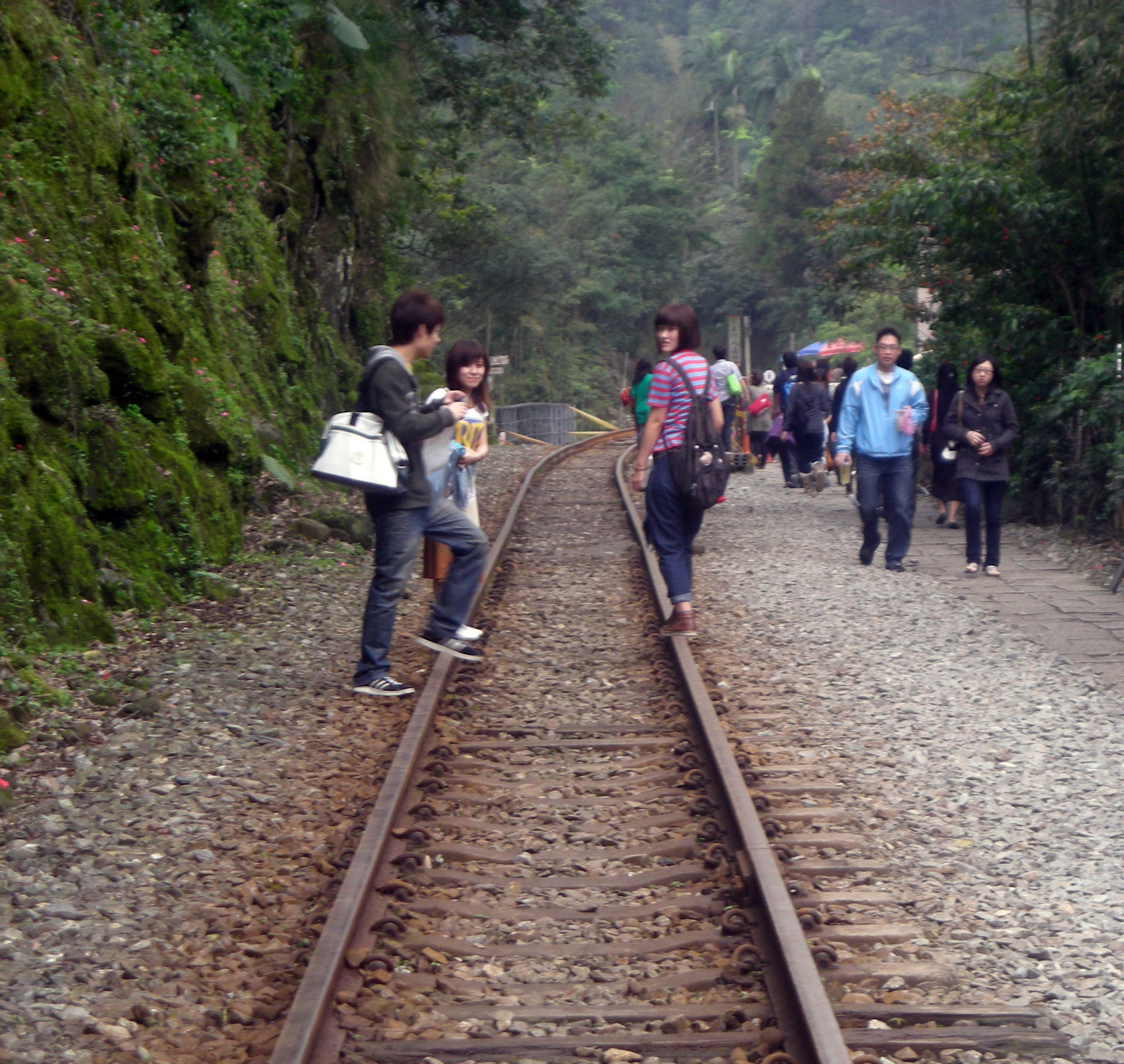 the sky lantern crew on the tracks.jpg