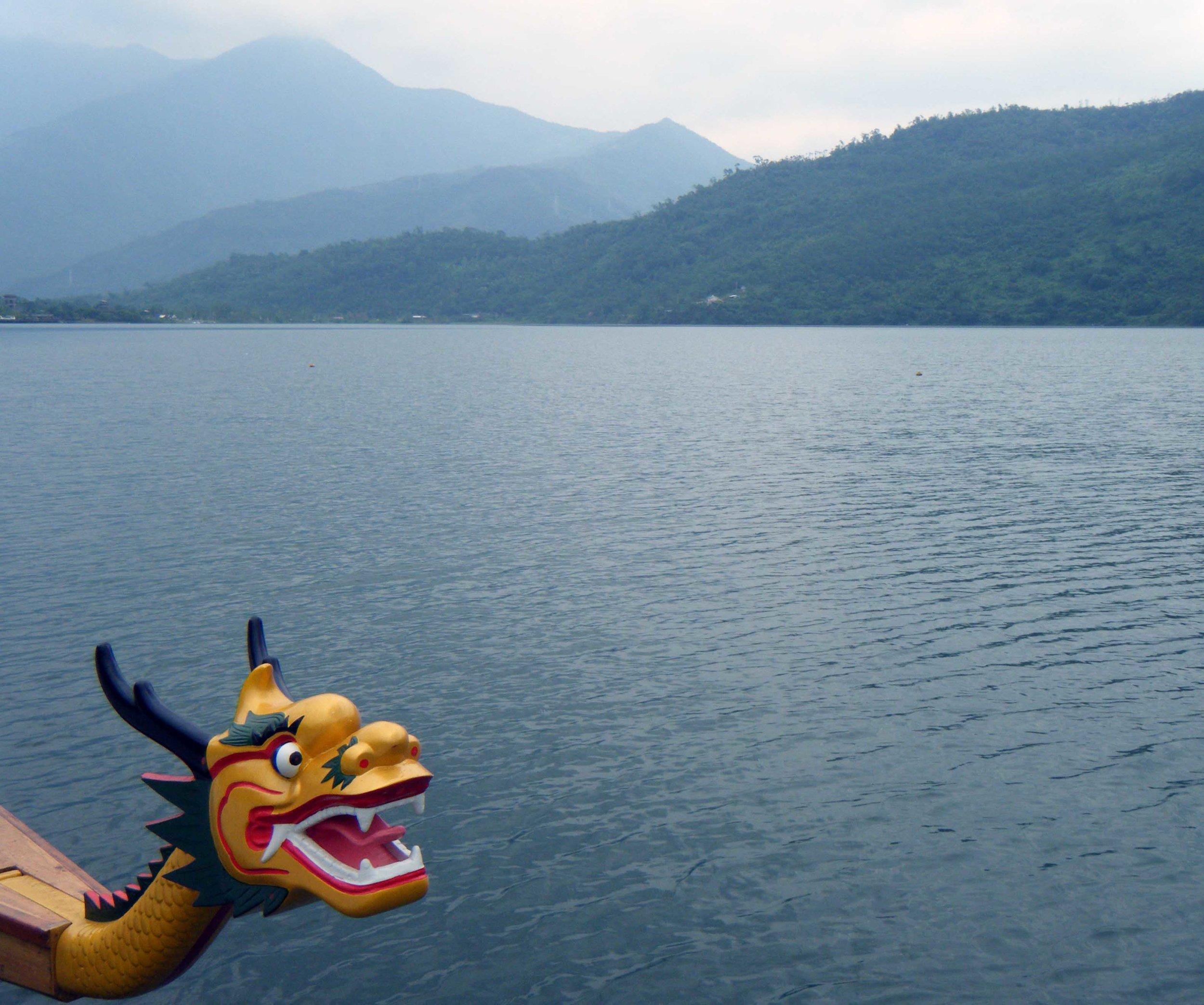 Dragon boat at Carp Lake.jpg