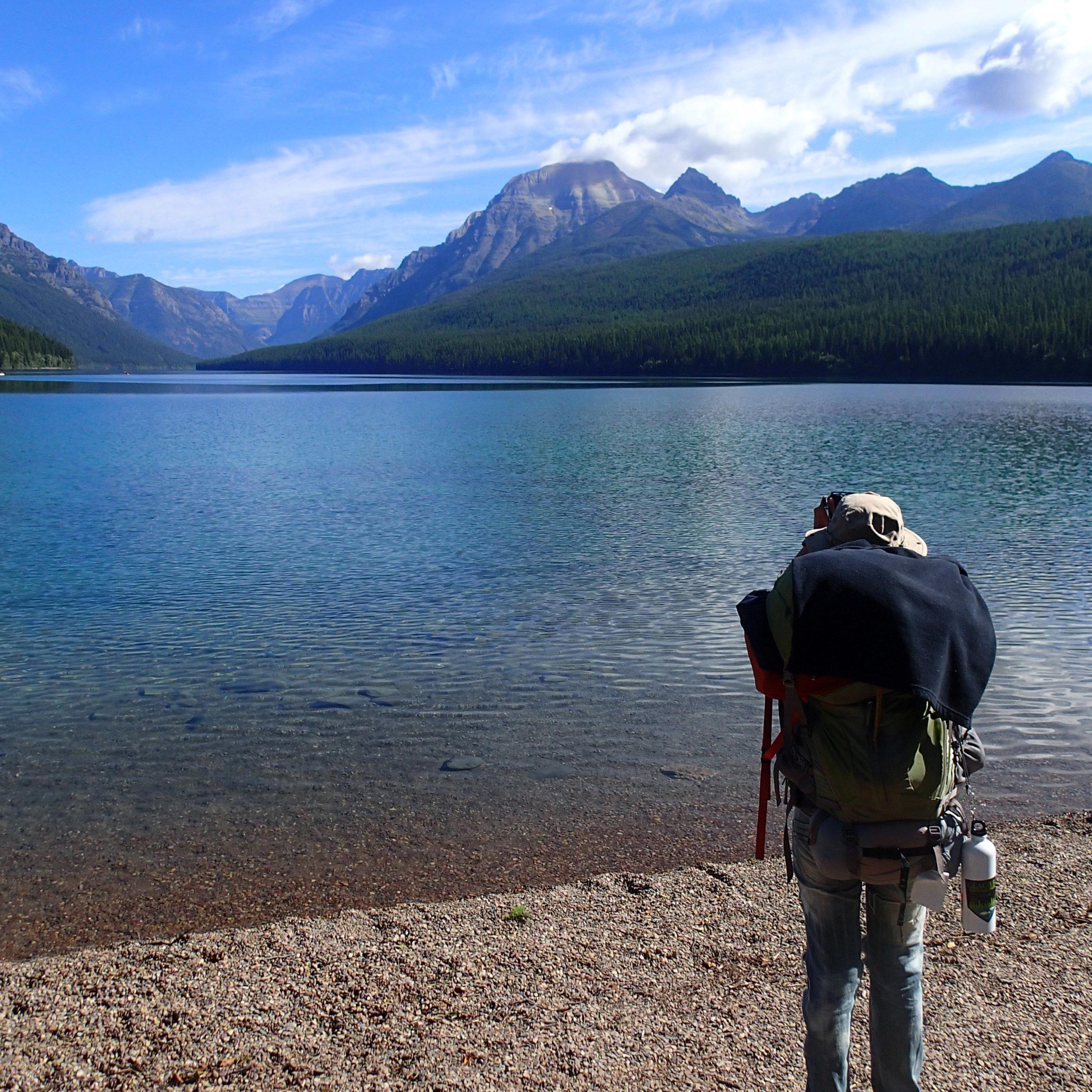 Ciao at Bowman Lake.jpg