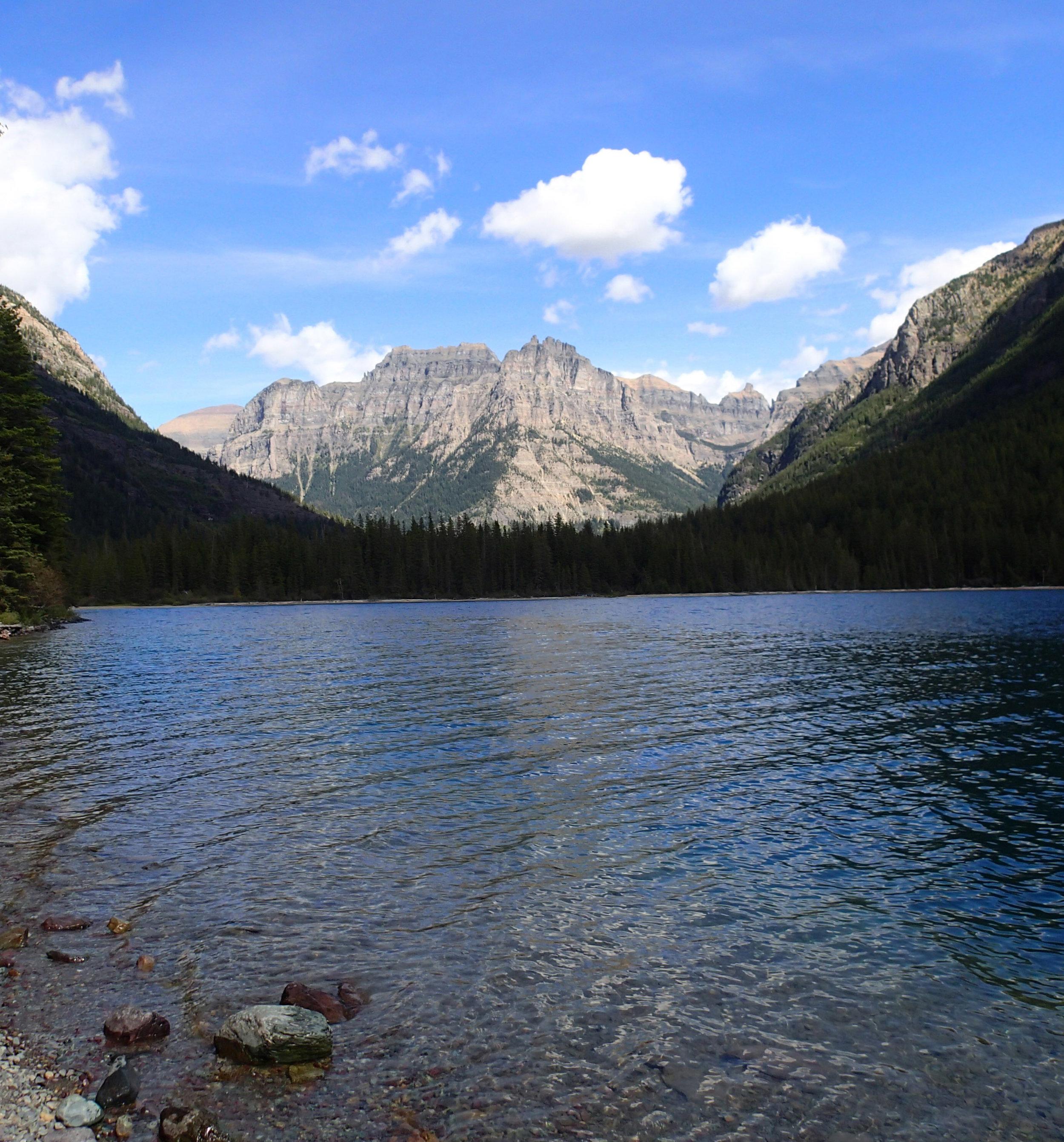 view from Bowman Lake beach.jpg
