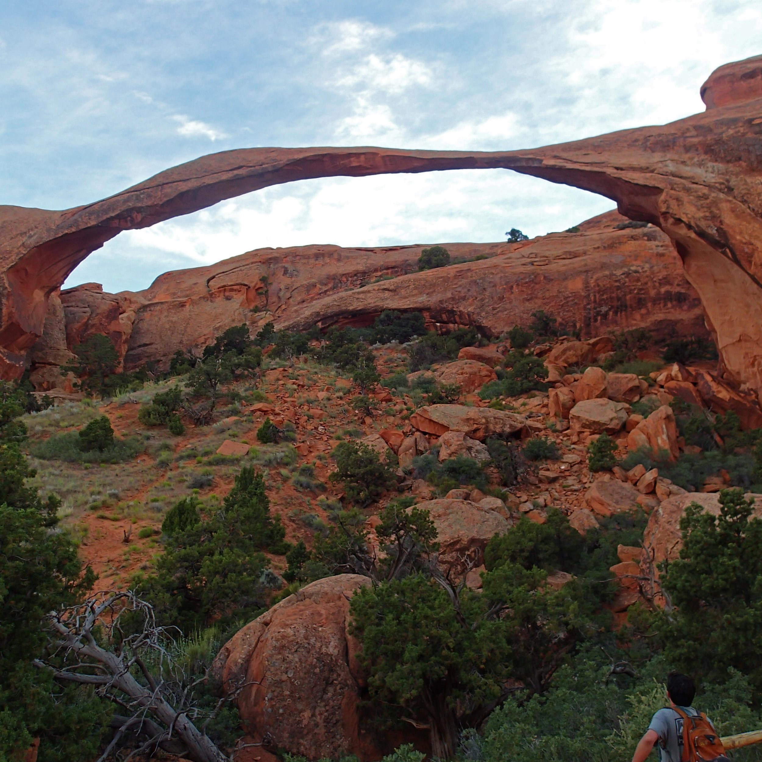 Kevin at the arch in Devil's Garden.jpg