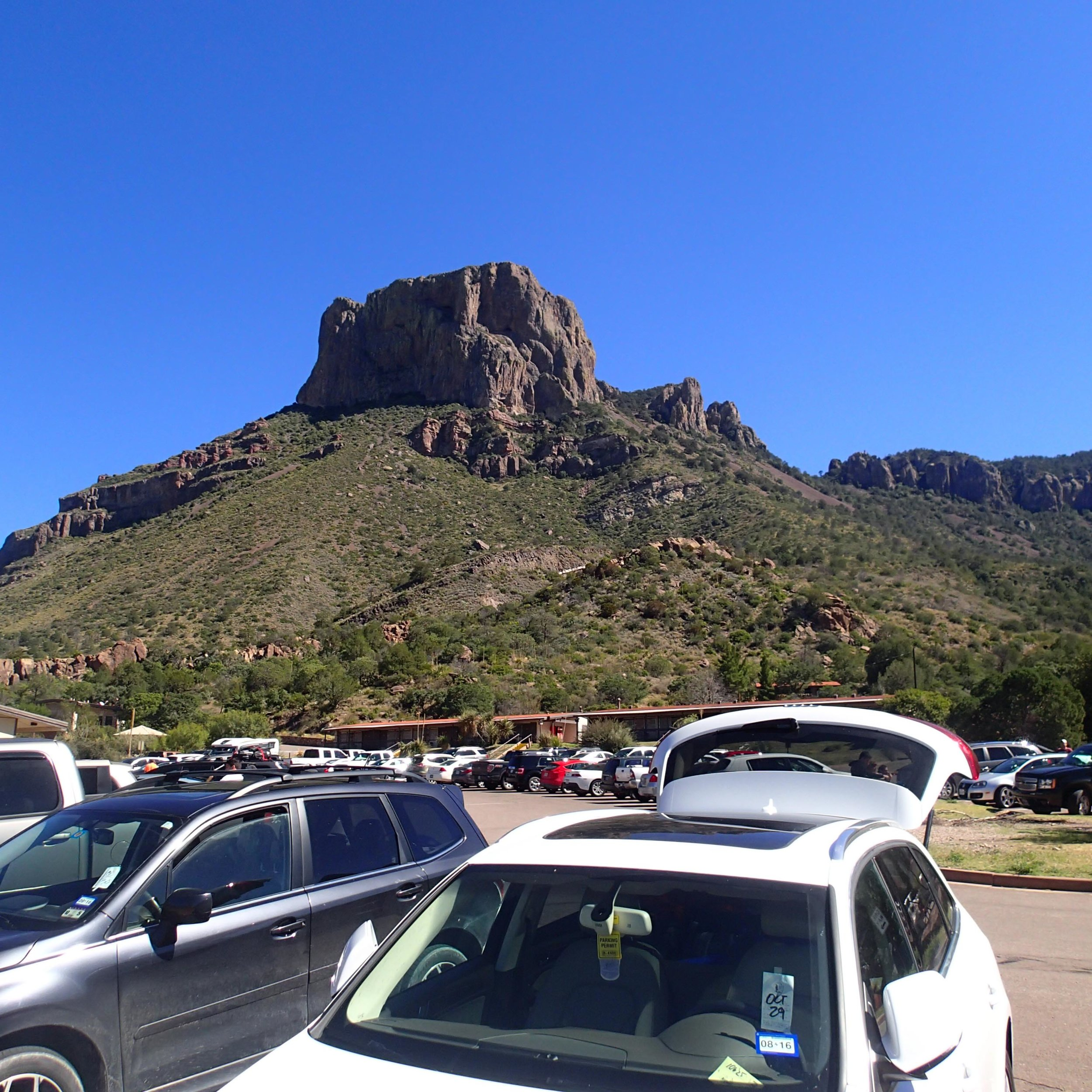 Chisos Basin parking lot.jpg