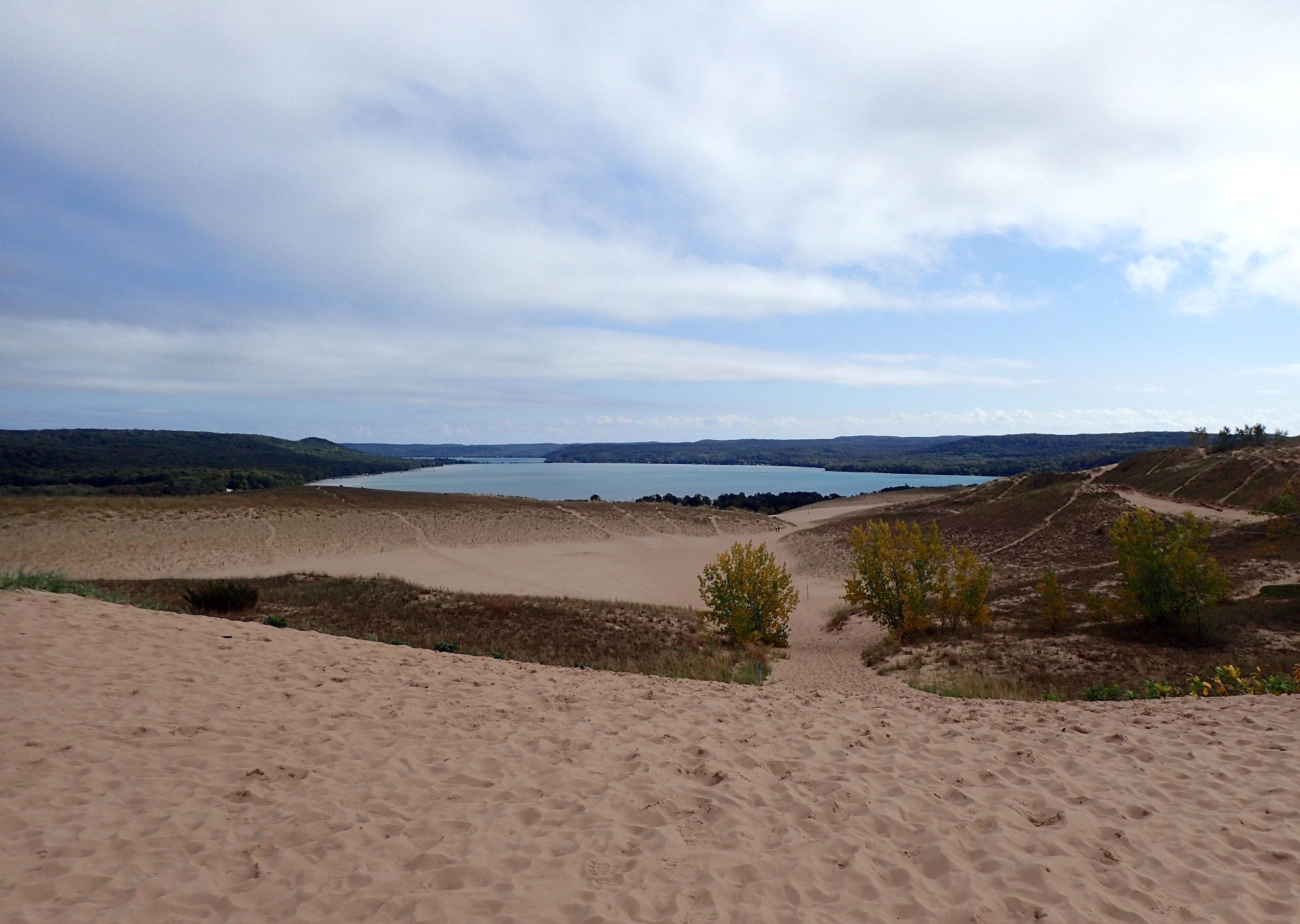 hiking down the dune.jpg