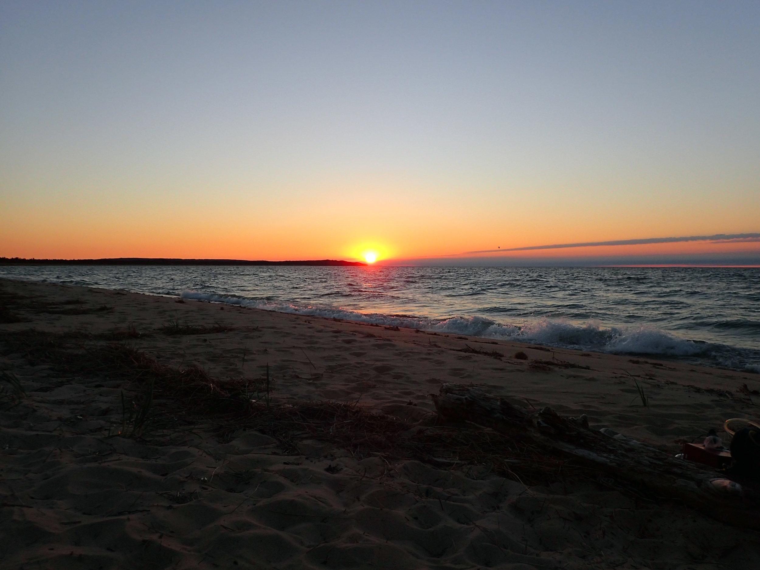 sunset at White Pine beach.jpg