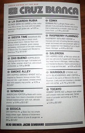 Cruz Blanca tap list.jpg