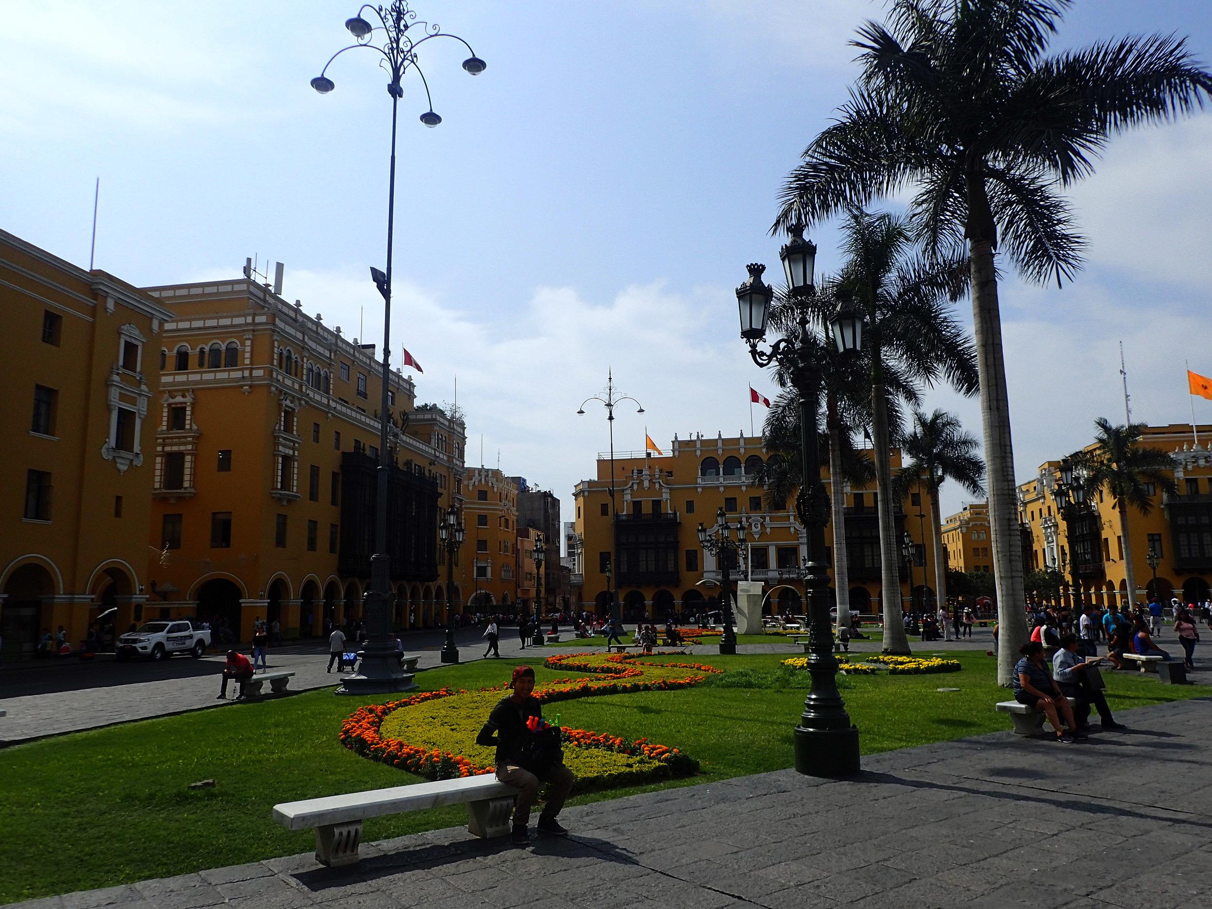 Lima's main plaza.jpg