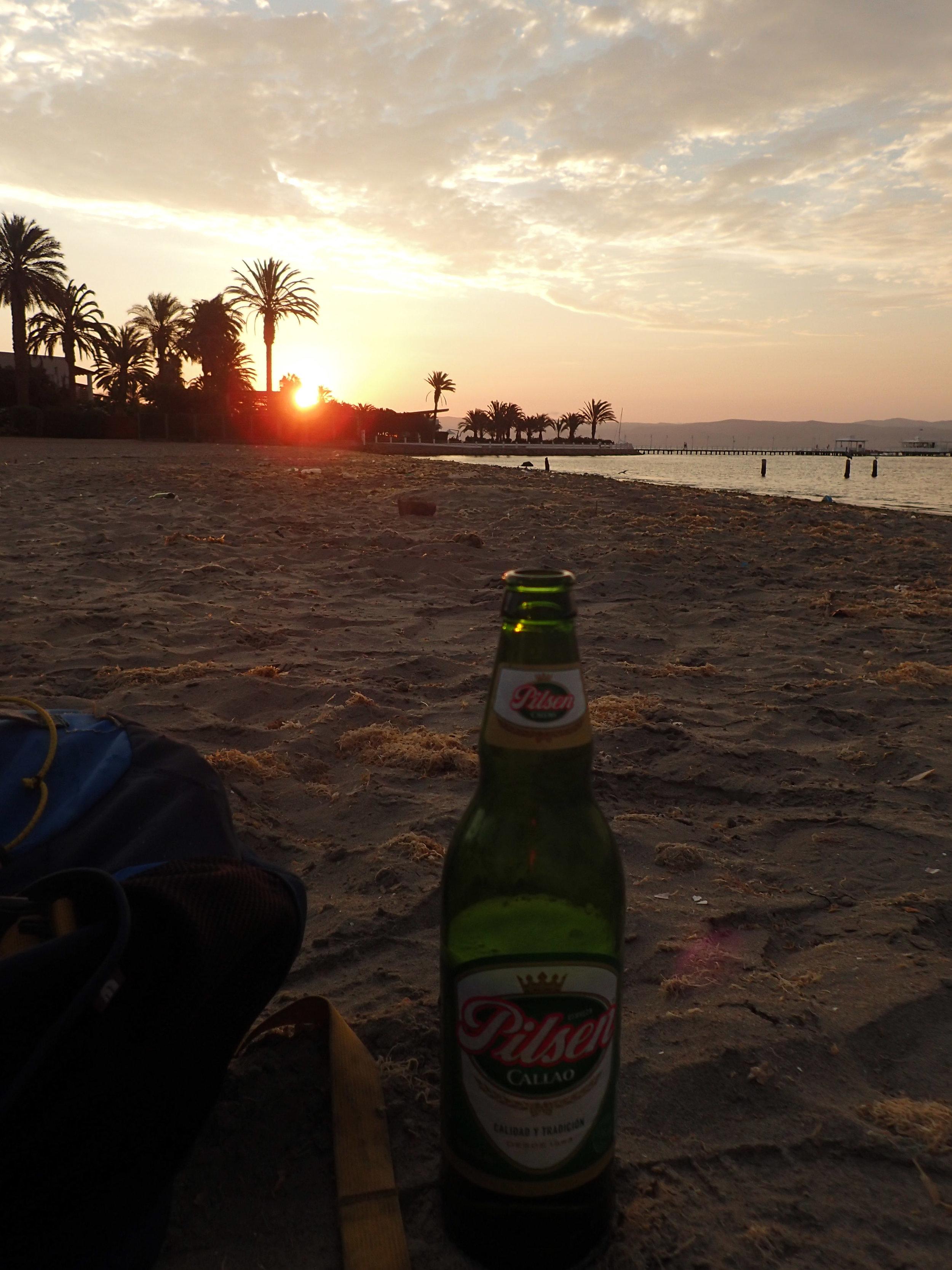tasty Callao and a sunset.jpg