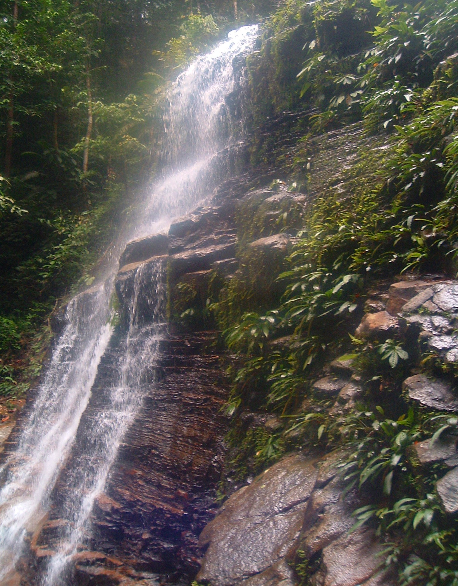 kubah national park waterfall.JPG
