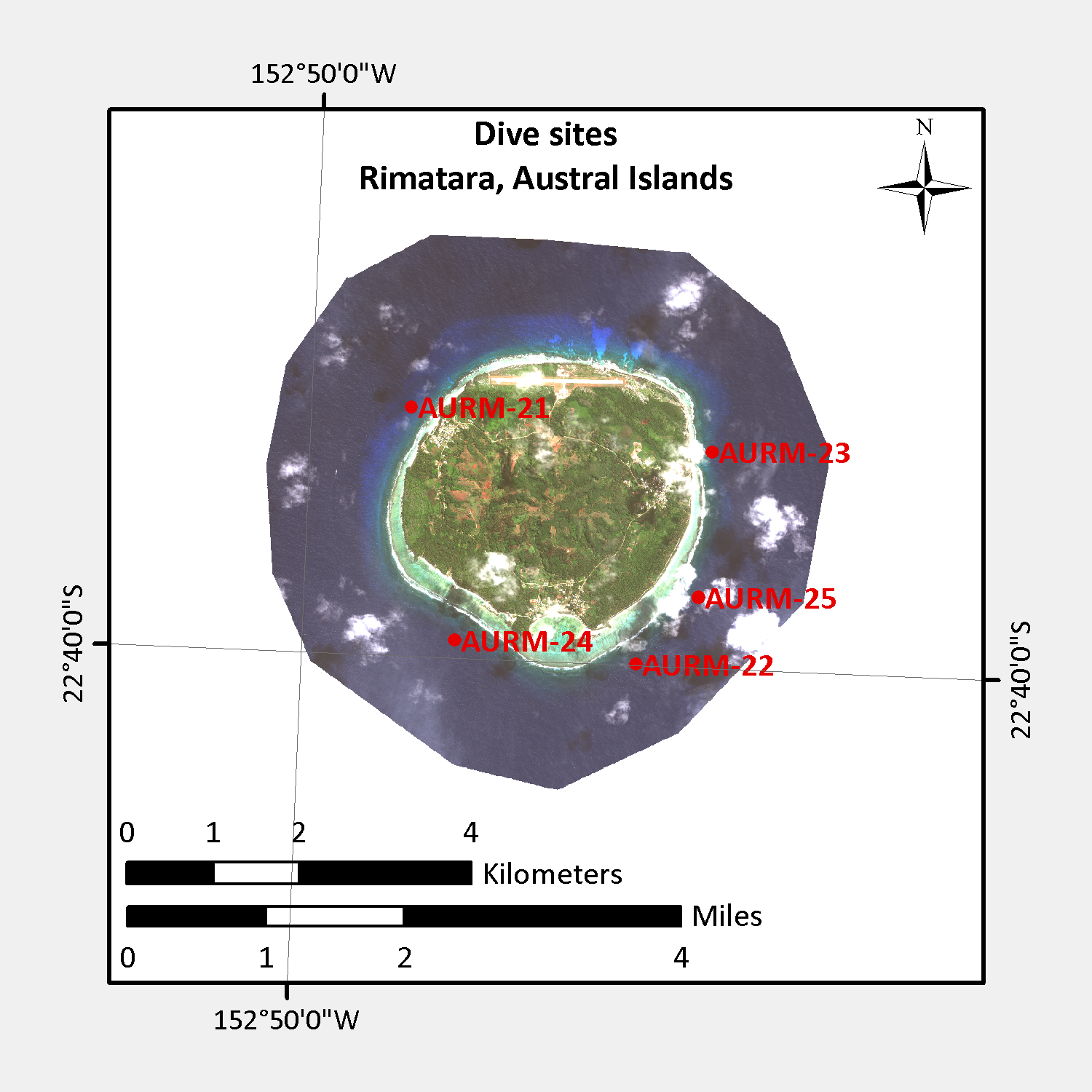 Please see the Living Oceans Foundation's awesome, new  maps page  for high-resolution habitat maps of Rimatara.