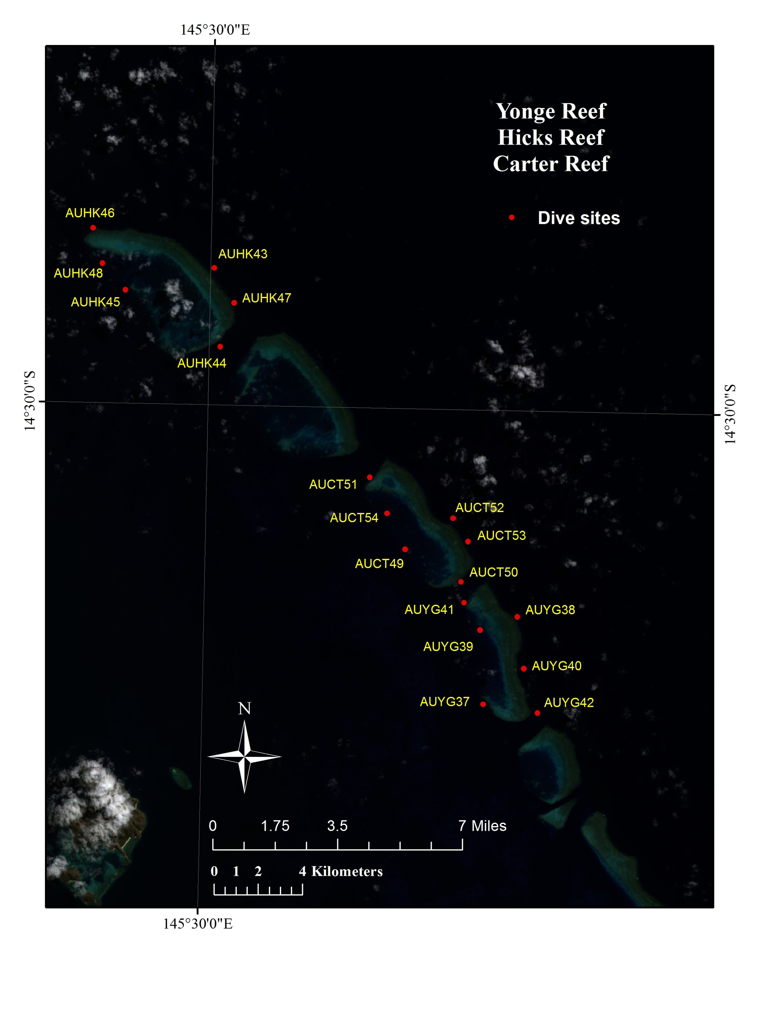 High-resolution habitat maps will be posted on the Living Oceans Foundation's world reef map  website  in late 2019.
