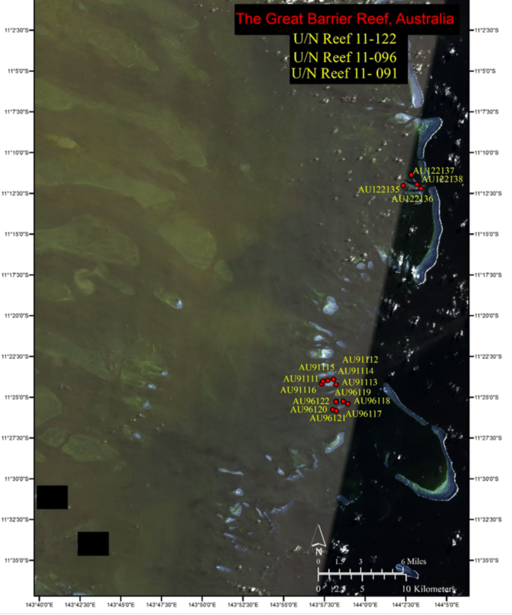 """11-122"" = unnamed reef 122 (2014-9-27)"