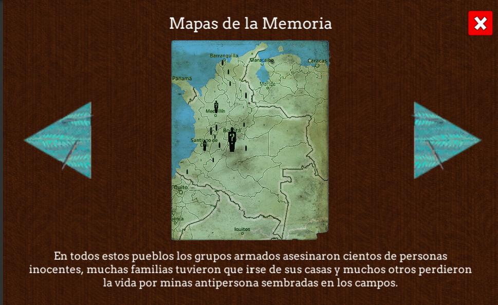 Mapa de los desaparecidos, Reconstrucción