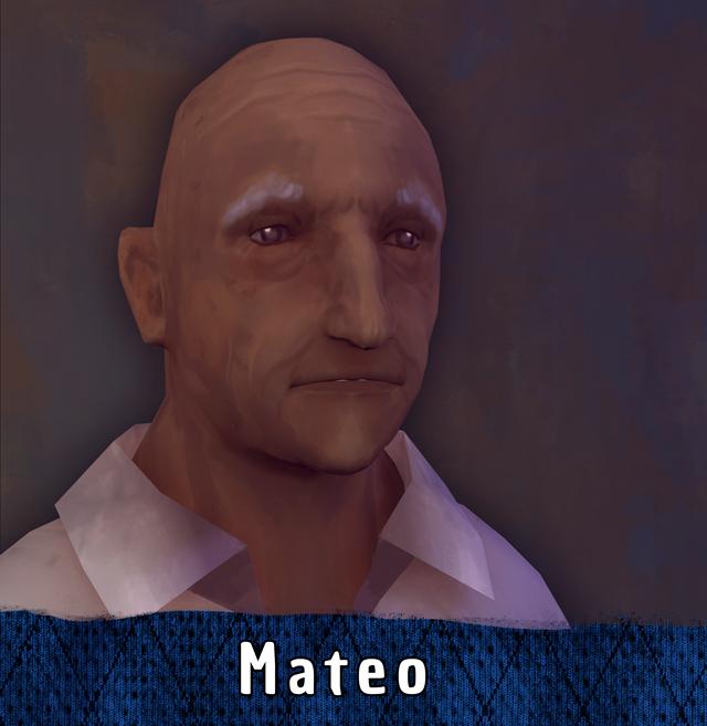 Mateo, Reconstrucción
