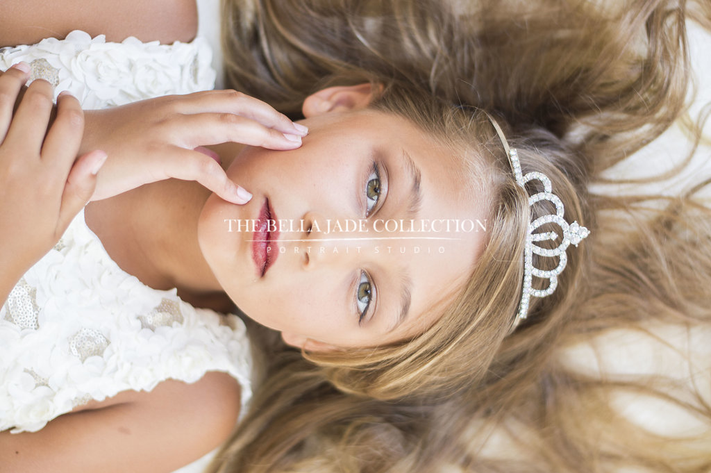 Couture Kids and Child Photography Photographer in Gilbert Chandler Mesa Az. The Bella Jade Collection is a boutique portrait studio in Gilbert specializing in beauty and glamour photography.