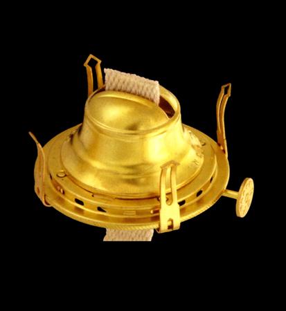 Brand New #2 Oil Kerosene Lamp Brass-plated Electric Burner Adapter  silver cord