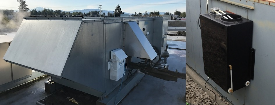 Green Pure Air simply retrofits to a buildings existing air handler