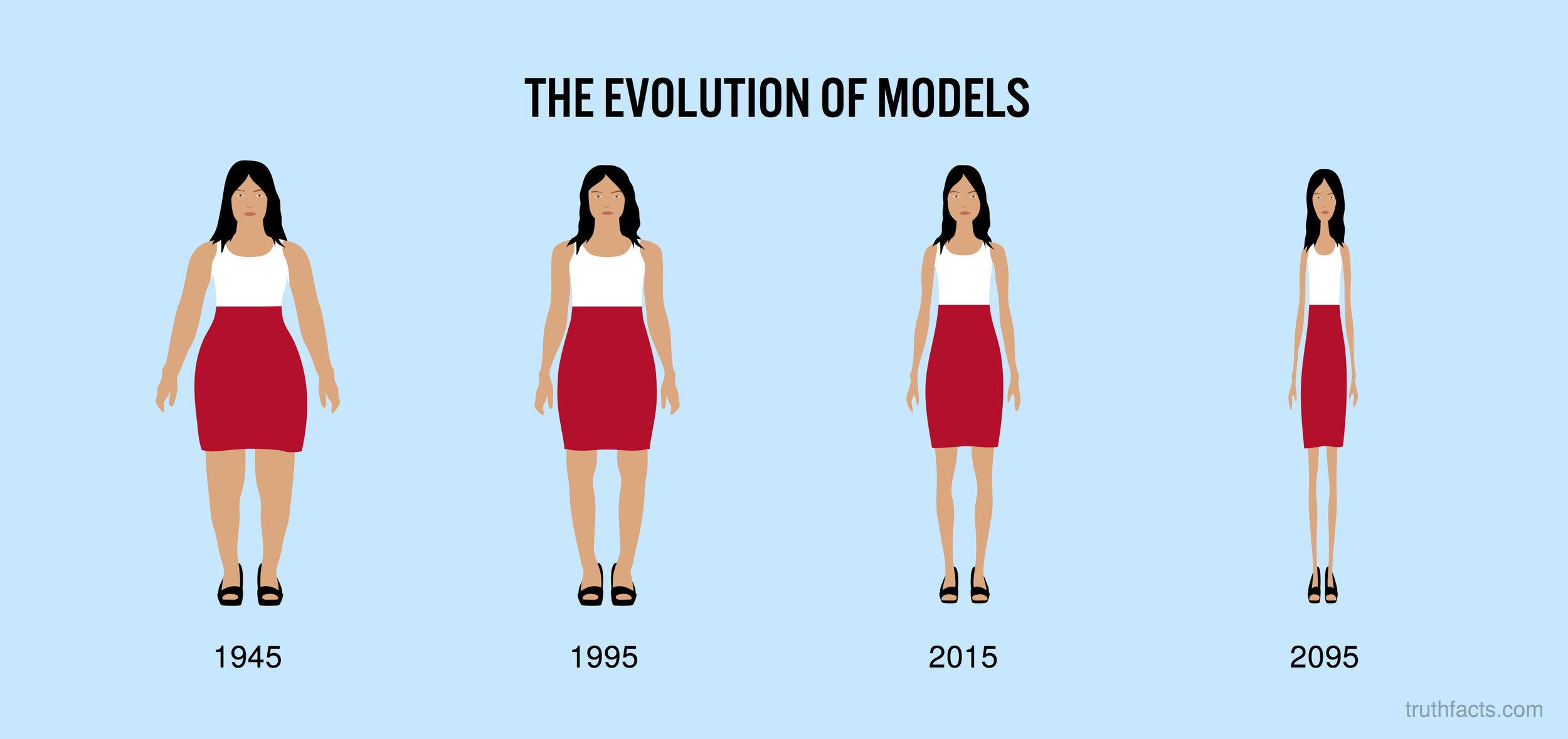 The evolution of models