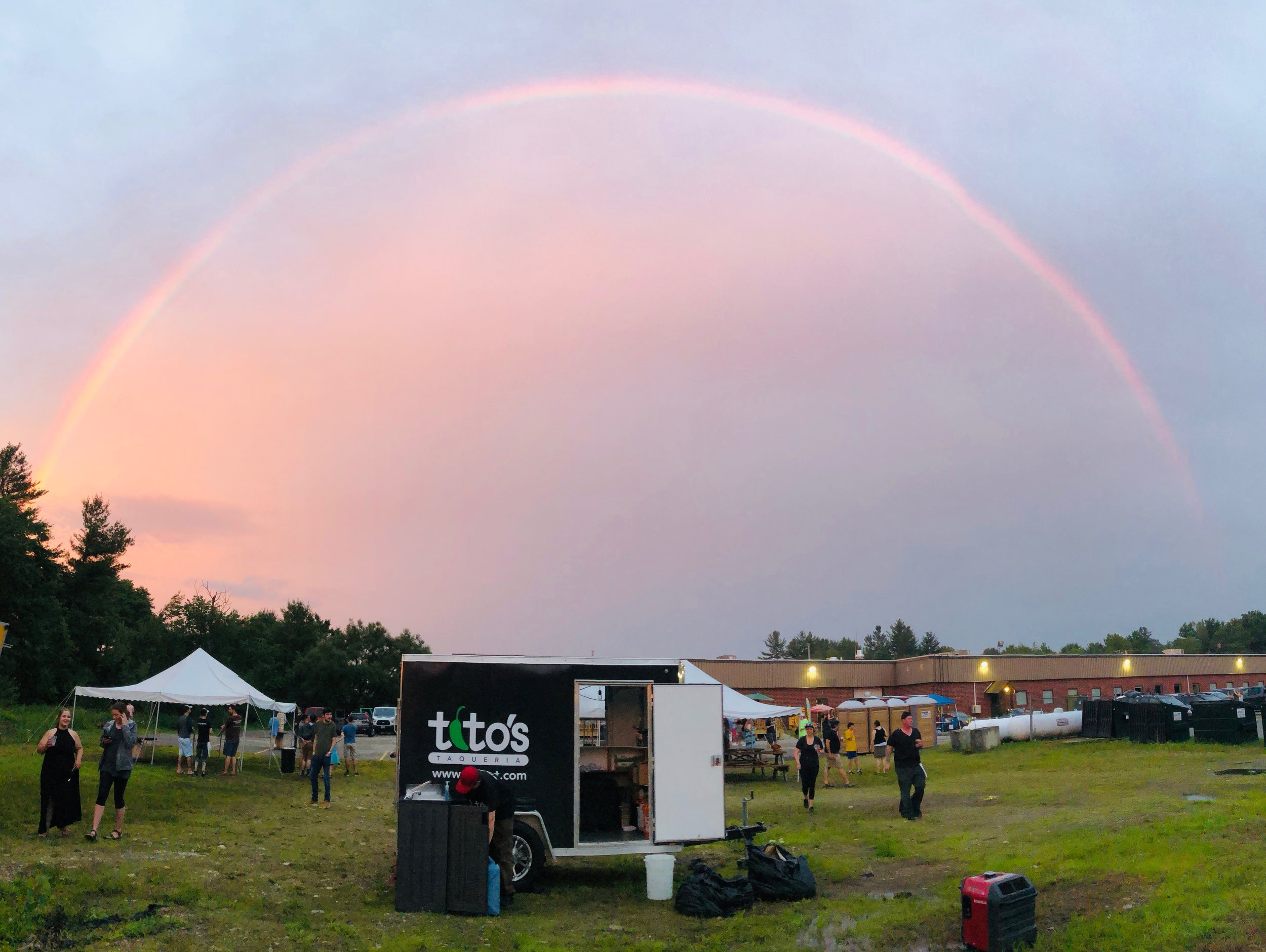 Titos Trailer Rainbow.JPG
