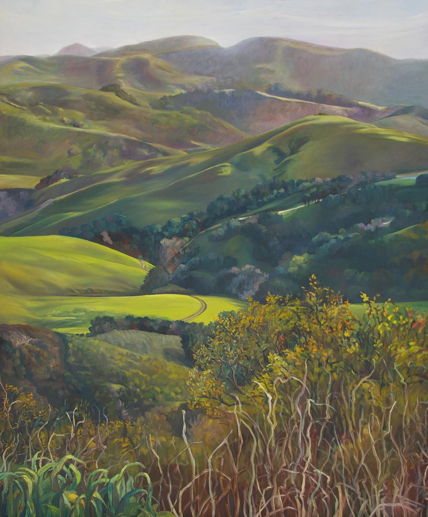 11c   oil on canvas   72 x 60  $11,500