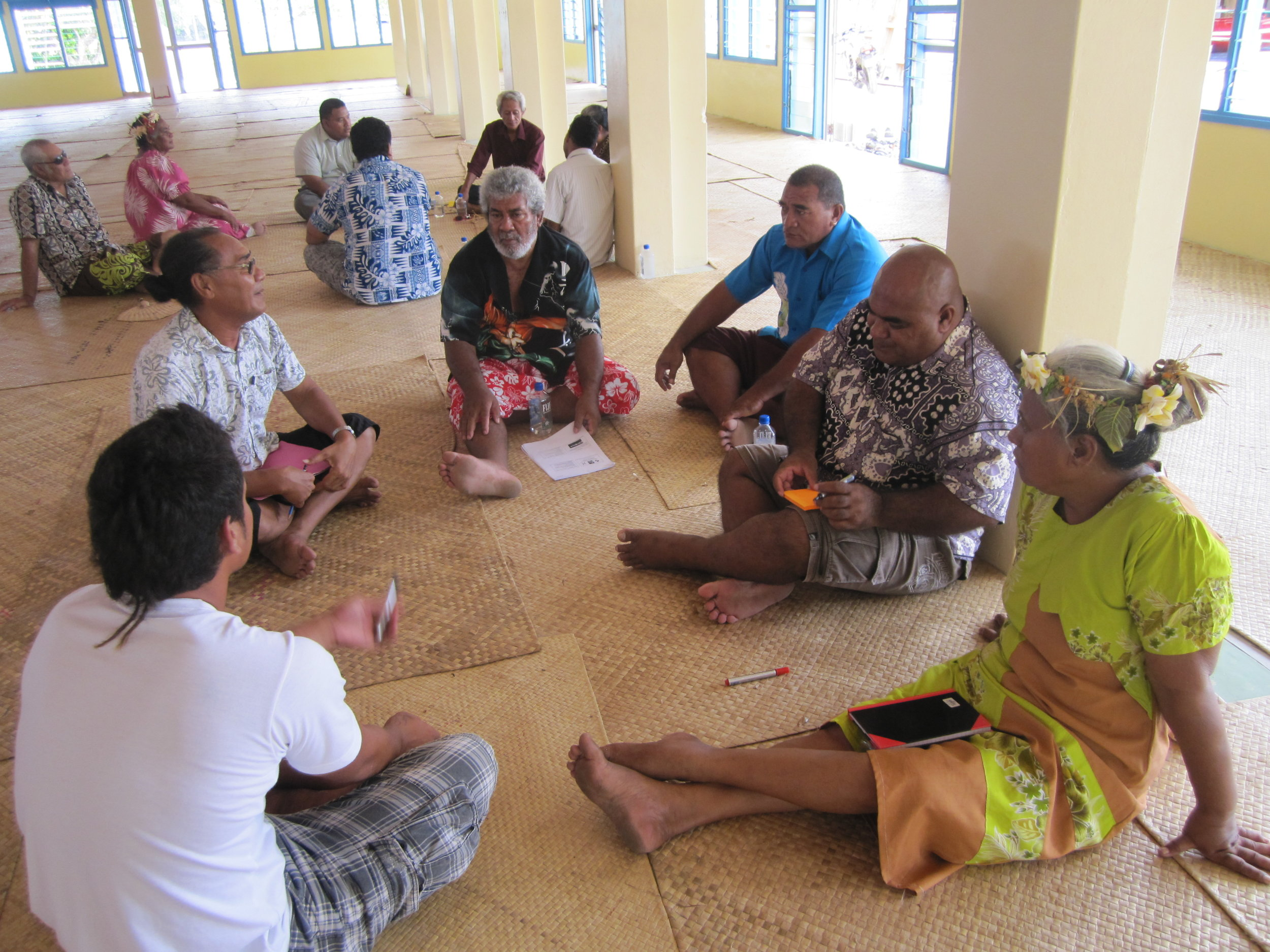 Workshop for consultations with stakeholders on the impacts of climate change in Tuvalu
