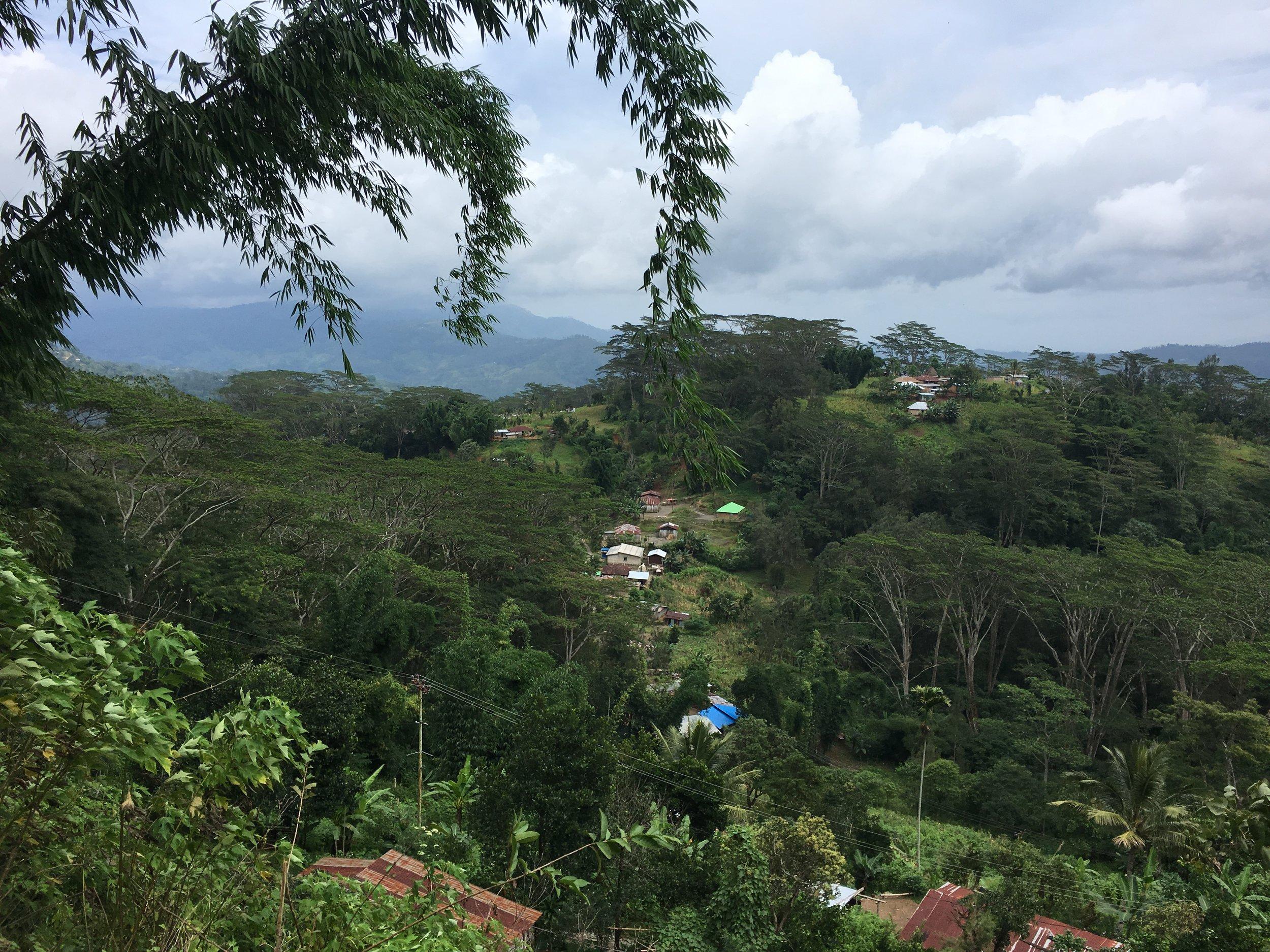 Mountain community in Timor Leste