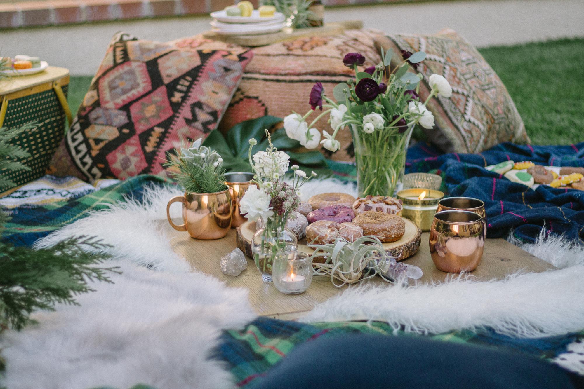 boho brunch picnic 6