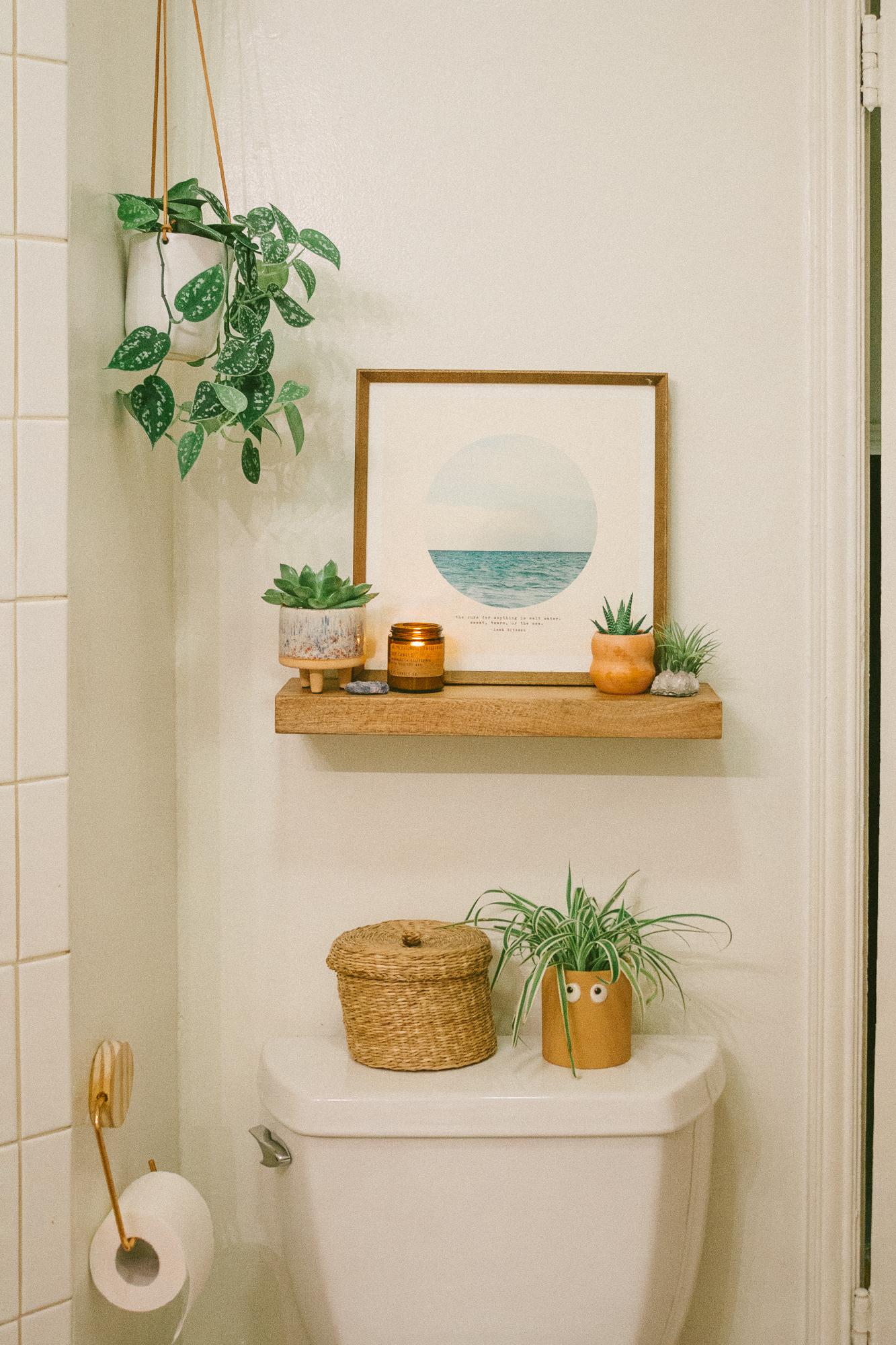 boho bathroom 20