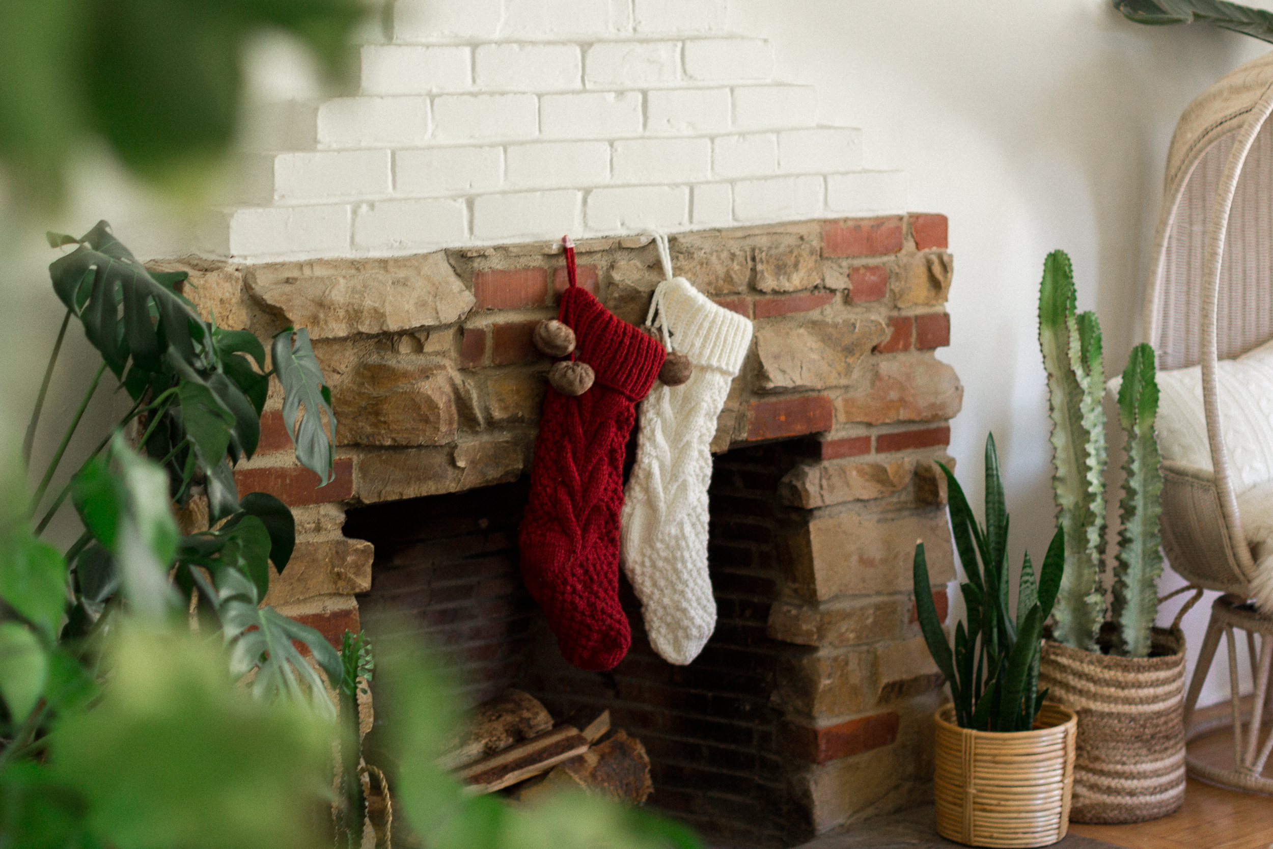 Bed Bath And Beyond Christmas Stockings.Holiday Home Refresh Black Blooms