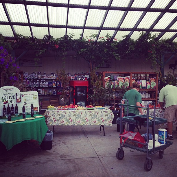 Morning everyone! We are just a few. Short minutes from the kickoff of our 4th annual fruit tree tasting event!!! We will also have a assortment of olive oils and George's homemade sourdough bread! Don't worry about the chance of sprinkles we are covered!!! #sanmateo #gardencenter #fruit #edibles #tasting #localflavor #somethingtodotoday