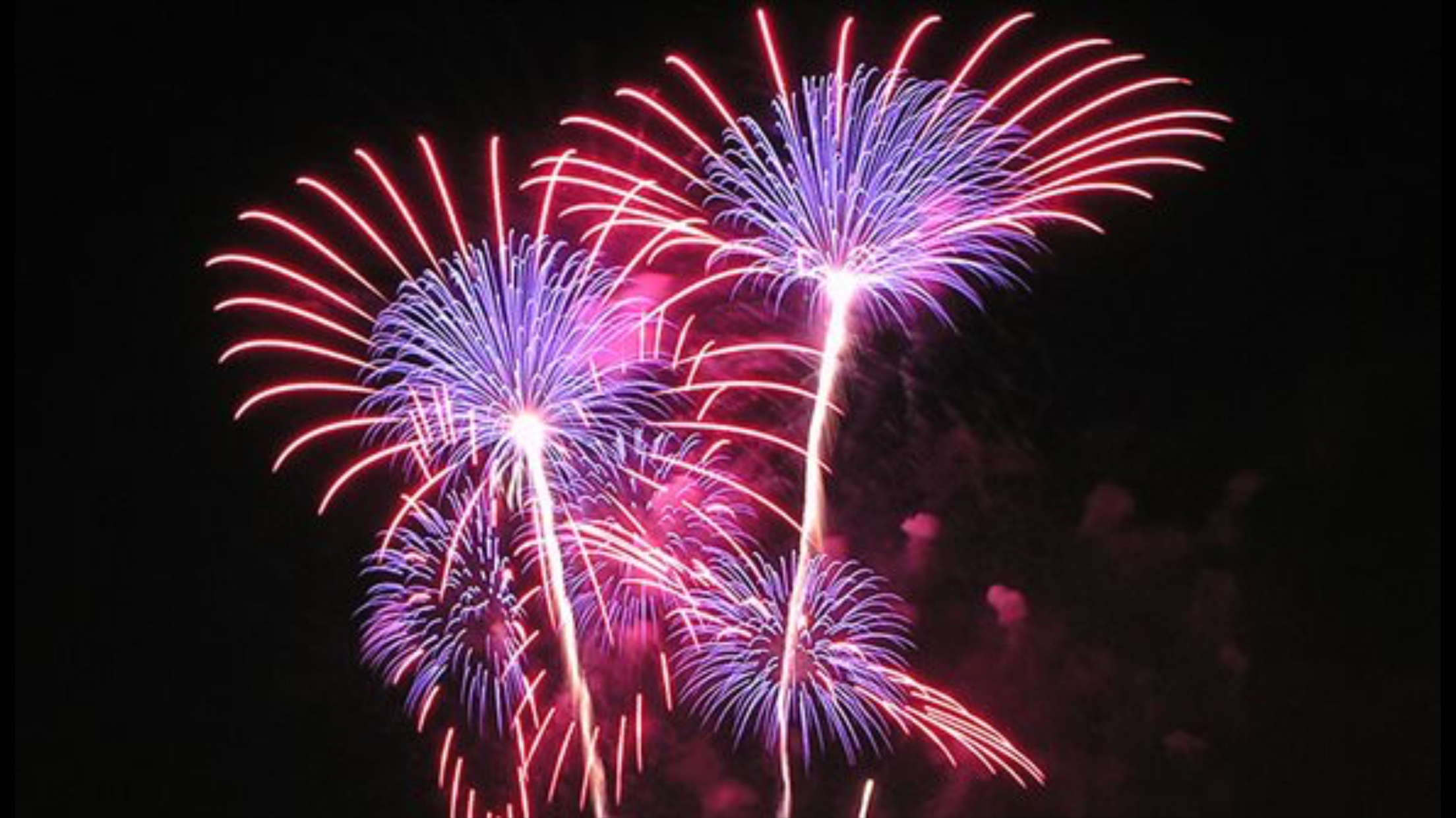 Hope your New Year's starts with a bang!
