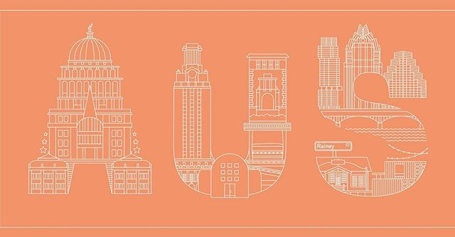 New airport codes #austin Link in bio . . . . . #graphicdesign#lineart#illustration#travel#design#illustrator#instadesign#branding#marketing#typegang#typography#lettering#vectorart#typetopia#artoftheday#minimalism#skyline #AUS #austintexas #universityoftexas #texas