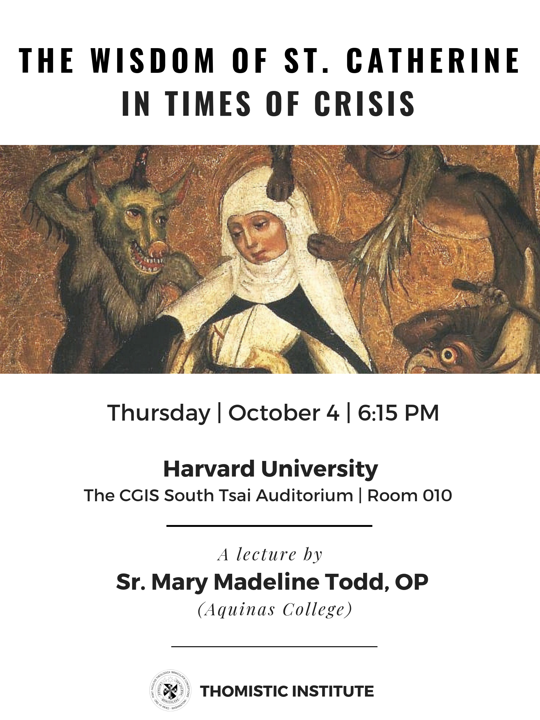 10.4.18 Sr Mary Madeline at Harvard - Wisdom of St Catherine 2.45.27 PM.png