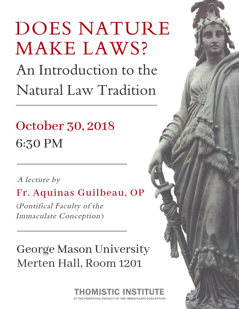 10.30.18 Fr. Guilbeau at GMU - Natural Law.png