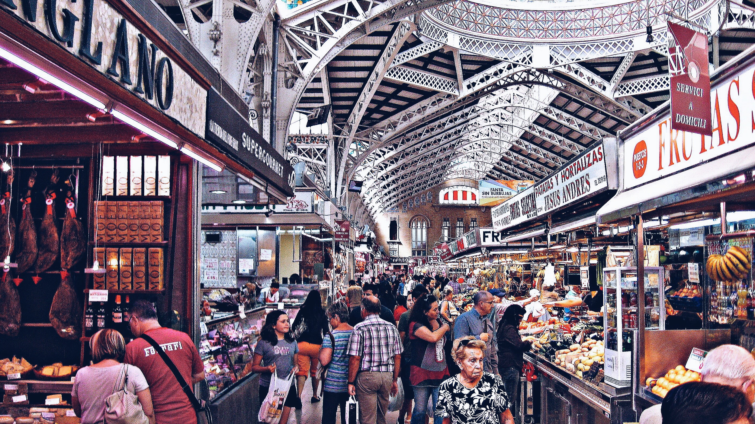 Astute Destinations | Valencia | Mercado Central | Jet Sharper