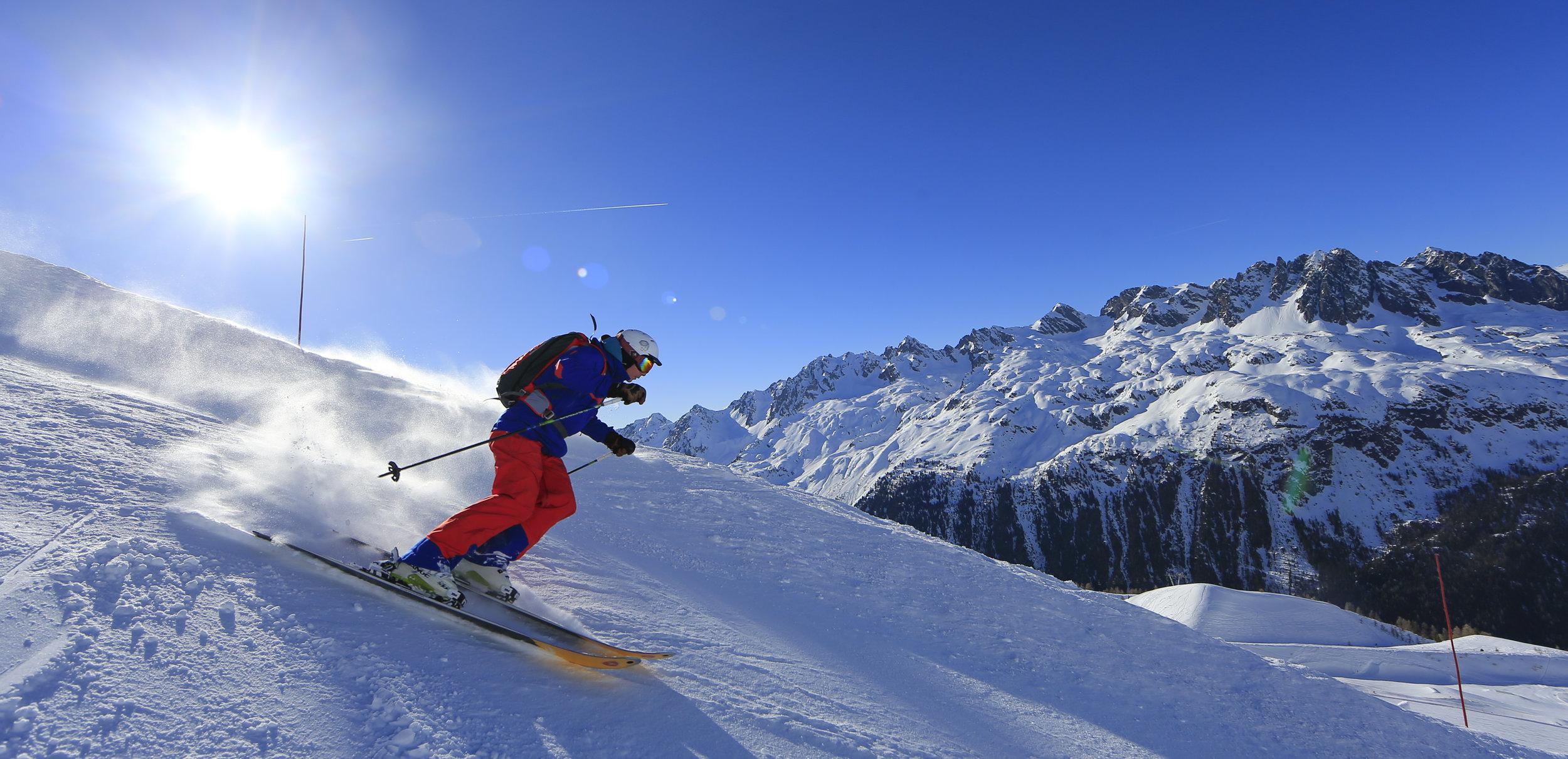 Astute Aviation   Private Jet Charter   Ski Slopes   Private Jet Hire   Alps