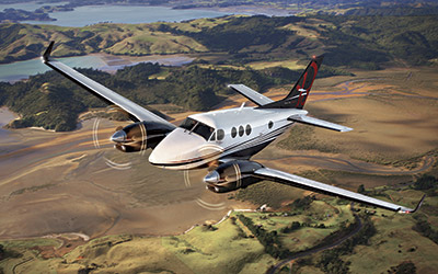 Astute Aviation | King Air 90 | Private Jet Hire