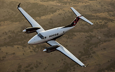Astute Aviation | King Air 250 | Private Jet Hire