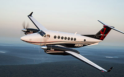 Astute Aviation | King Air 350 | Private Jet Hire