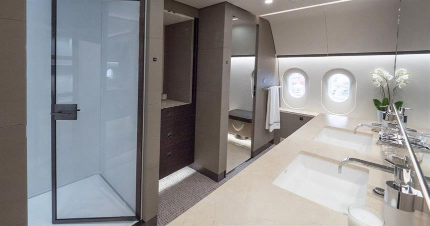 Astute aviation | Private Jet Charter | Dreamliner bathroom.jpg