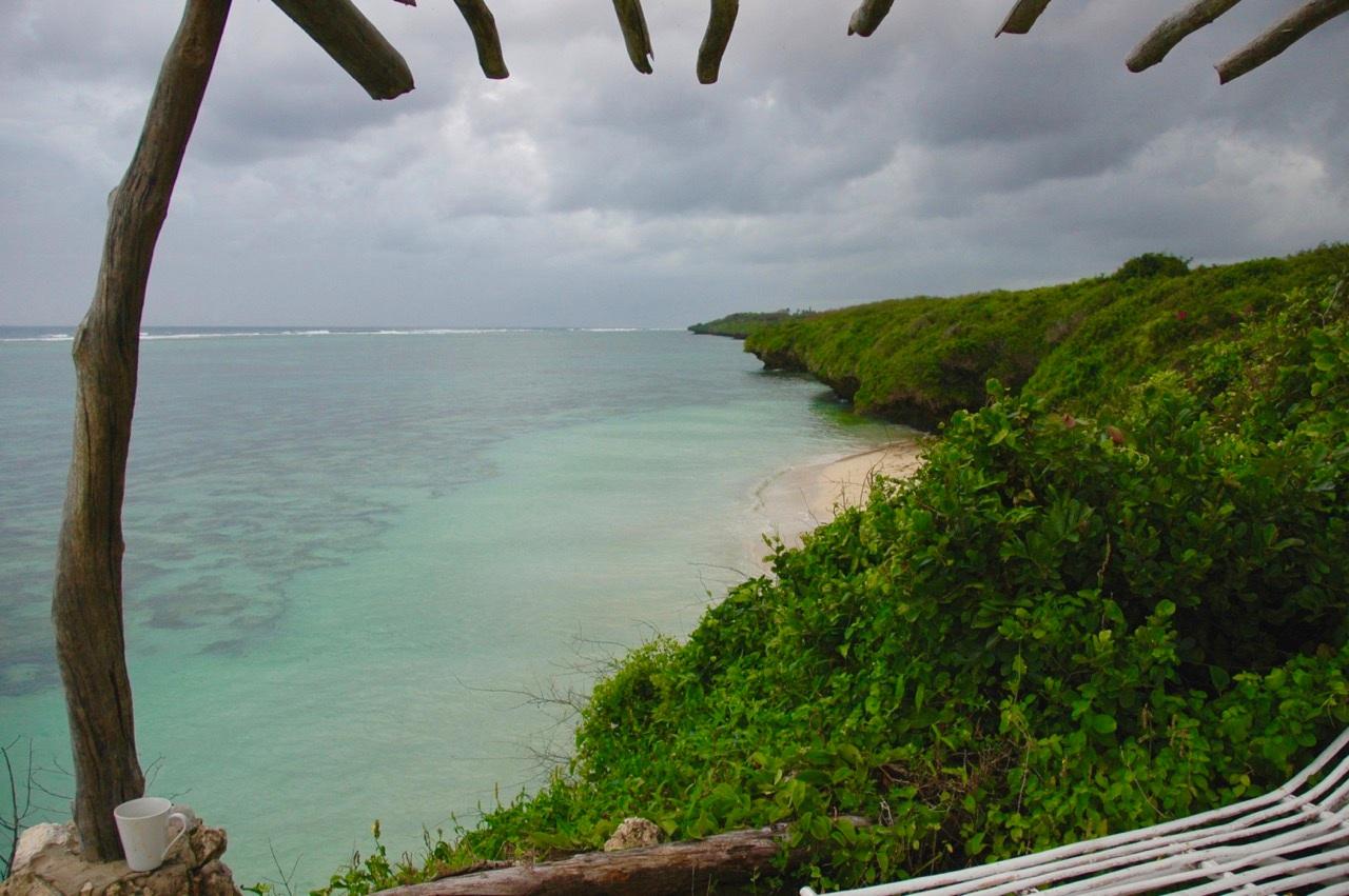 Beach beds on the Ocean