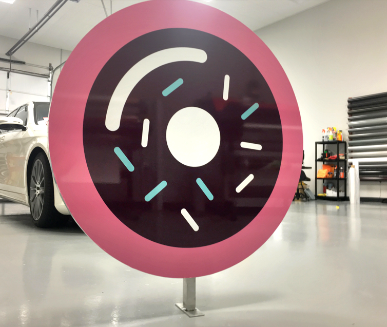Five Daughters Bakery donut Logo Sign