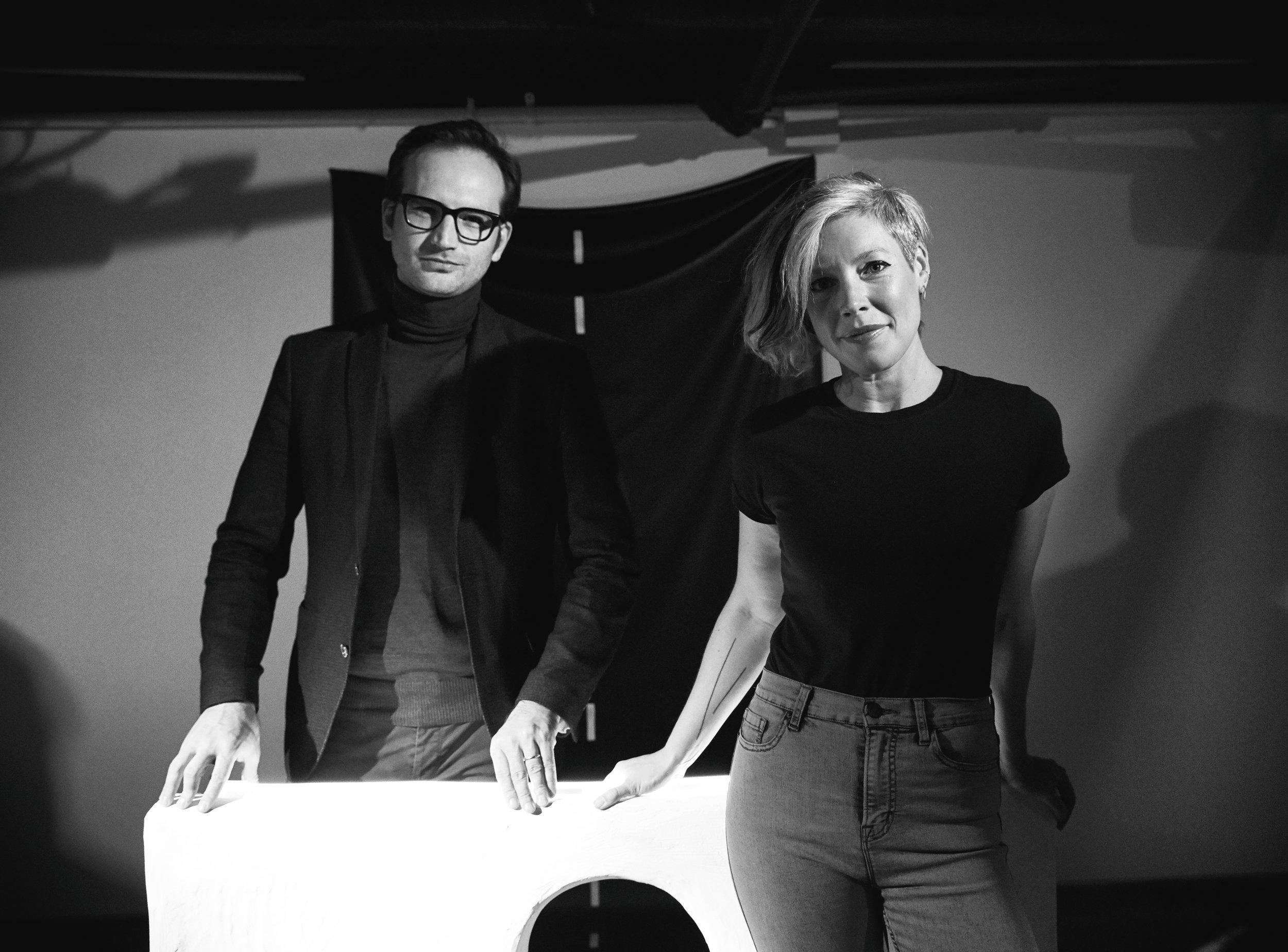 With Artist Kara L Rooney