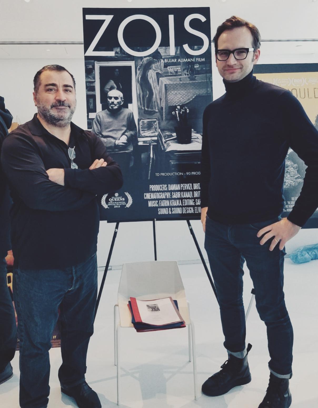 With Director Bujar Alimani @ QWFF