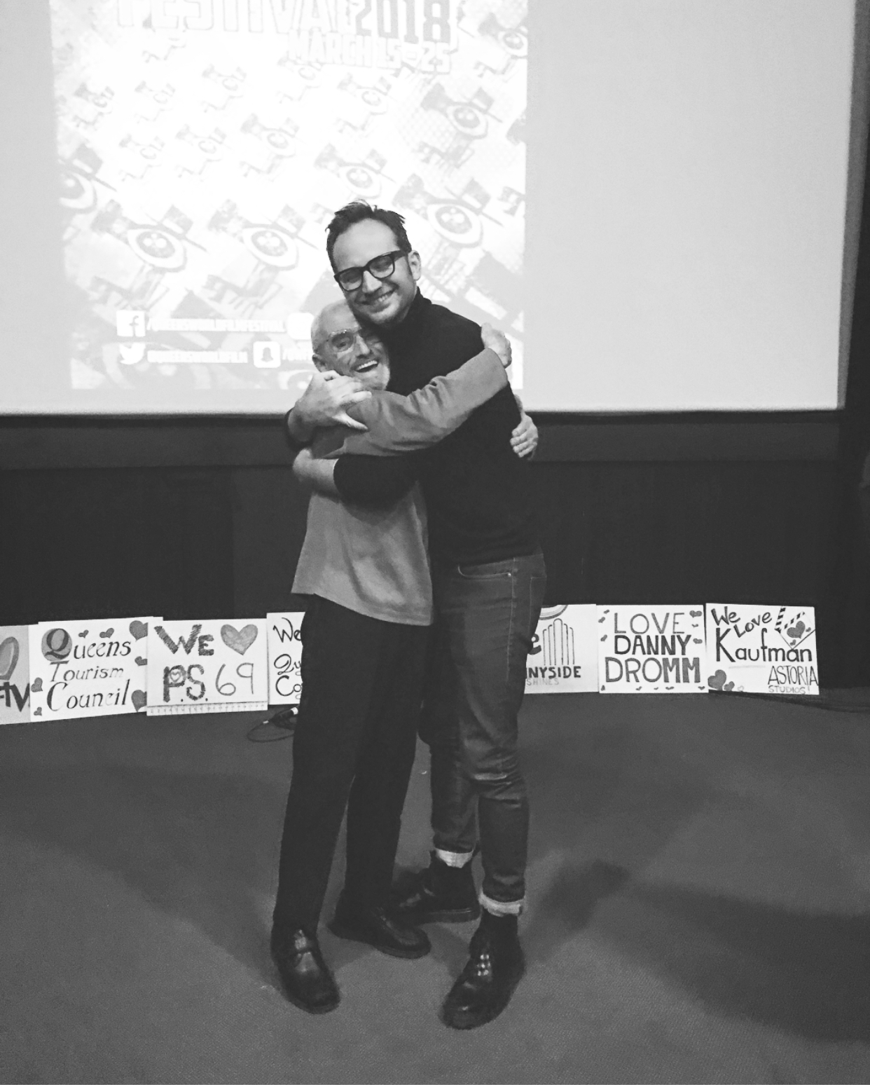 With Artist Zois Shuttie after the premiere