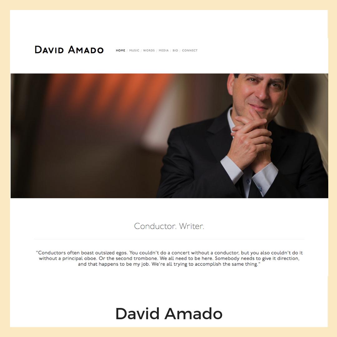 David Amado. Delaware. Website
