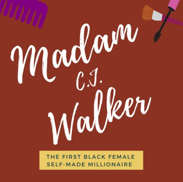 Caption :During  #BlackHistoryMonth , we wanted to highlight local + famous  #blackentrepreneurs . Madame C.J. Walker was the first black female millionaire, selling haircare + eventually started her own business! Being the  #GirlBoss she was, she even established her own school + gave back to the community!