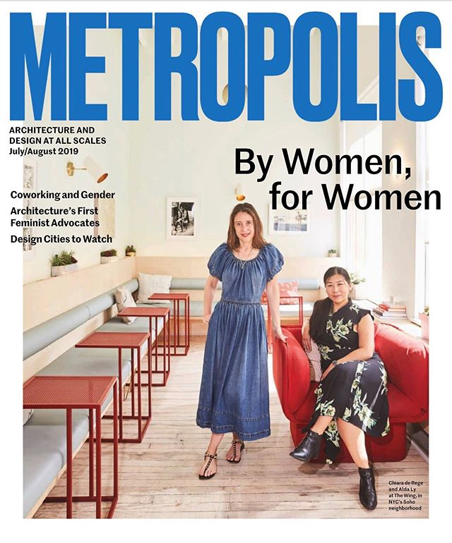 This cover symbolizes so much for not only our young firm but also all the women in the architecture, design and construction, who are literally building the spaces of our future. You are all a part of this story. @chiaraderegeinteriors, you are a dream collaborator! Big thank you to everyone tagged! We are so honored.  #forwomenbywomen #womeninarchitecture #bettertogether