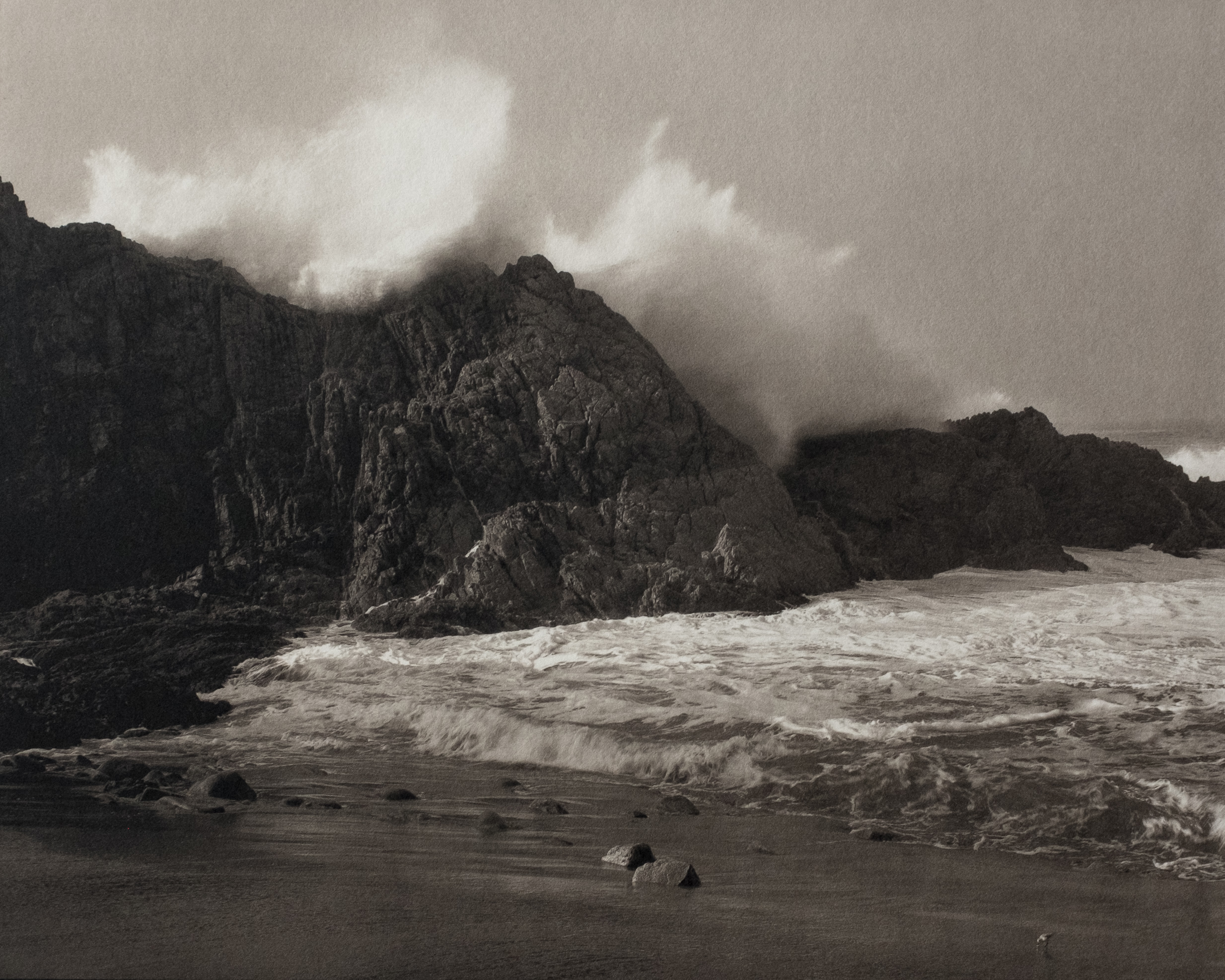 Large Wave, Little Bird, McClure's Beach