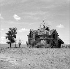 Abandoned Farmhouse, Washington (Sunlit With Cloud) [Austin Granger] — The  Cunningham Press